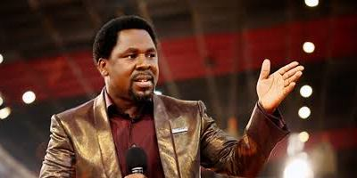 My elderly mum and dad have started wearing face masks, they only remove it when they want to eat - T.B. Joshua