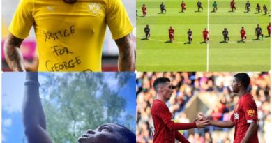 Sancho, Pogba, Rashford, Brewster, Liverpool F.C and others join Black lives matter in support for George Floyd justice