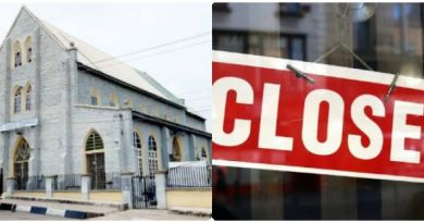 BREAKING: Church, Mosque Remain Shut In Lagos, other 3 States in Nigeria