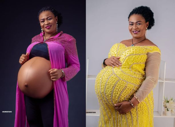 Wow! Nigerian lady welcomes triplets after 14 years of marriage
