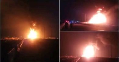 Several feared dead, others injured, Vehicles burnt as petrol tanker explode along Lagos-Ibadan Expressway (Photos)