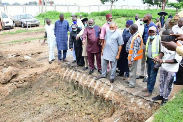 Niger State Government commences rehabilitation of Minna City Gate-Chanchaga Road (Photos)
