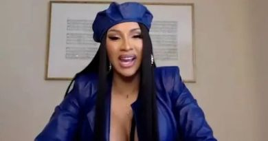 Cardi B reacts to her viral nude photos on instagram