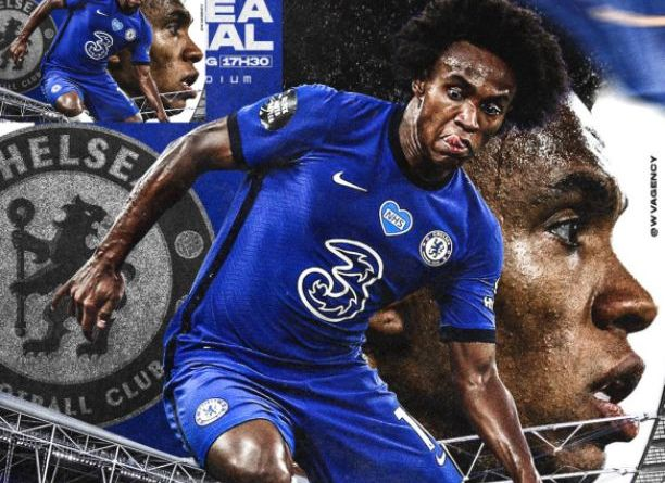 Willian depart Chelsea after 7 years with the club