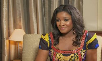 Pray for Omotola Jalade Ekeinde as she tested positive to COVID-19