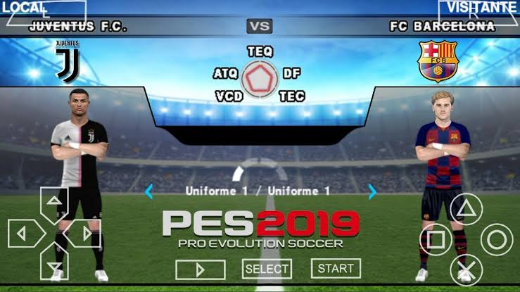 PES 2020 PPSSPP – PES 2020 PSP ISO File English (PS4 camera) Free Download
