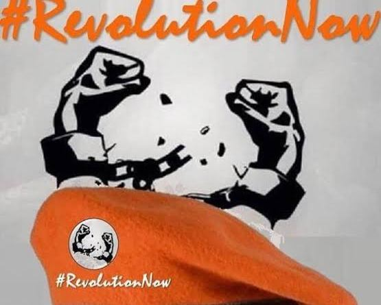 #RevolutionNowprotest in Lagos storm whole streets