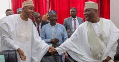 BREAKING: Atiku, Bukola Saraki, Rabiu Musa finally decamp to APC