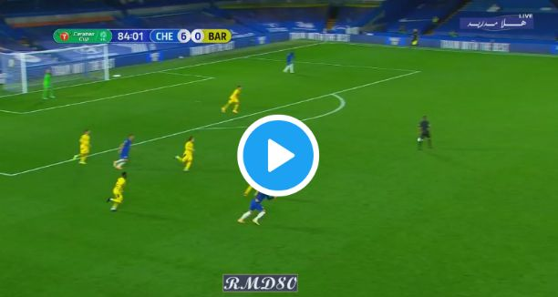 Chelsea 6-0 Barnsley: Watch Full Highlights As Havertz Scores Hat-trick For Chelsea In The Carabao Cup