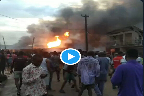 3 dead several injured as explosion rocks Bestroof Gas plant in Baruwa, Ipaja Lagos (Video)