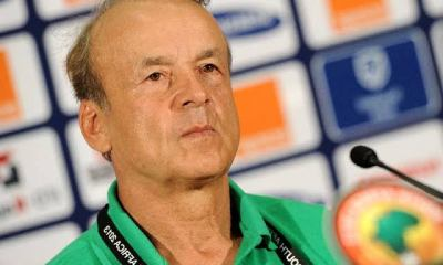 BREAKING: Rohr releases the names of 4 Super Eagles players that tested positive for coronavirus
