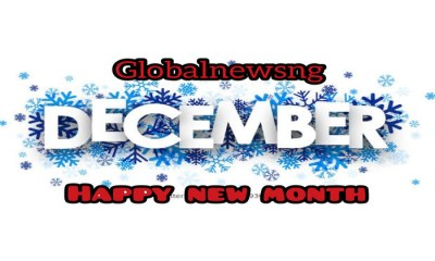 Happy New Month Messages and Wishes for December 2020