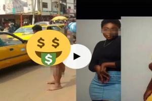 A female graduate runs mad after dumping the man who sponsor her education