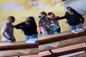 Video: Auchi Poly Student Fights Lecturer Tears His Clothe For Not Allow Her To Write Exam