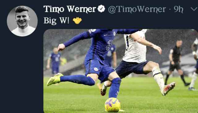 Timo Werner post