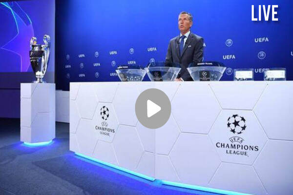 Watch Champions League Draw Live Streaming