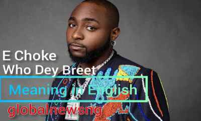 E Choke, Who Dey Breet: Meaning in English and Originator of the Slang