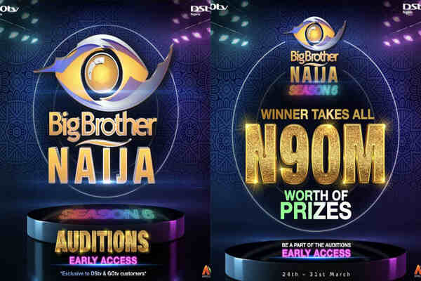 How to register for BBNaija season 6, requirements and application closing date