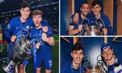 Kai Havertz sends message to Chelsea fans after wining Champions League for them