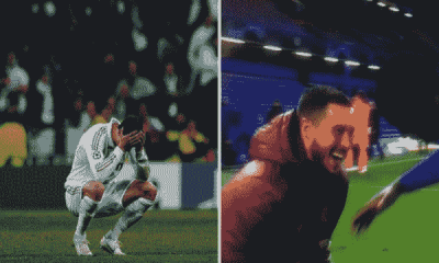 Hazard delighted to join Chelsea after Madrid fans ask him to leave for laughing with Chelsea players