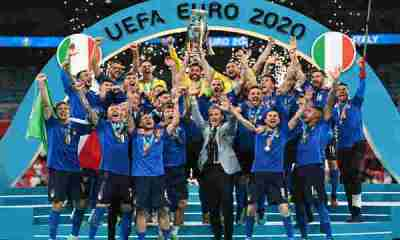 Italy crowned Champions of Europe after beating England 3-2 on penalties