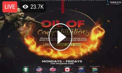 NSPPD - New Season Prophetic Prayers and Declarations Live Stream