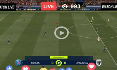 Watch PSG vs Angers Live Streaming