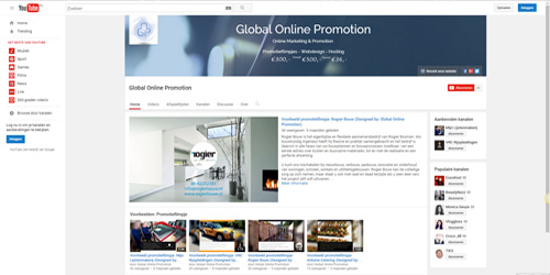 Global Online Promotion