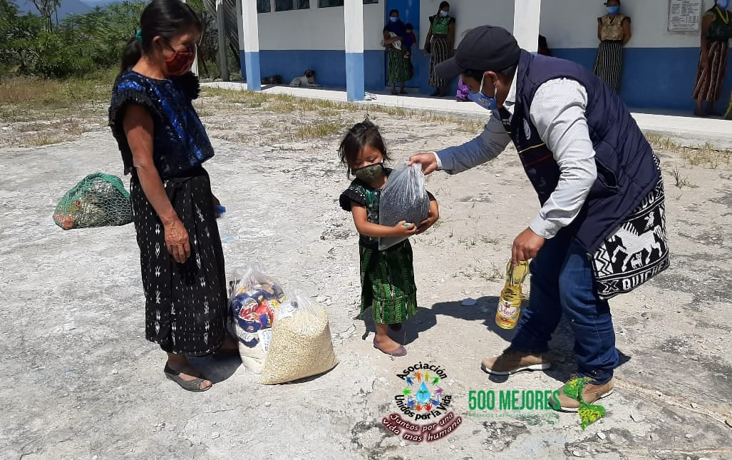 Food Kit Delivery in Chusanyab II, Guatemala