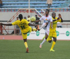 Action from the Nigerian League