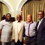 photonews: Buhari, Zuma, Atiku Abubakar