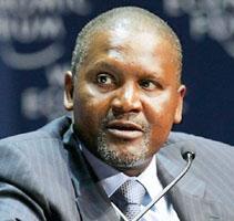 Aliko Dangote, Africa's richest man