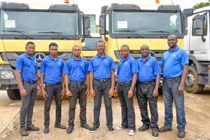 The staff of Tetralog Nigeria Limited