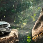 Mercedes-Benz GLE Coupé headlines Universal's Jurassic World