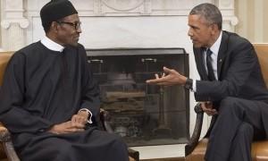 Presidents Obama and Buhari
