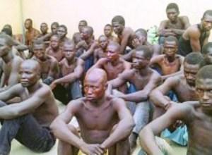 Boko Haram prisoners