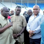 Governor Wike redeems dollar splash pledge to Dream Team 6 after 2-1 win over Congo