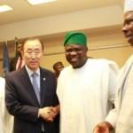 PHOTONEWS: Gov. Ambode at reception for the UN Secretary-General, Mr. Ban Ki-Moon in Abuja