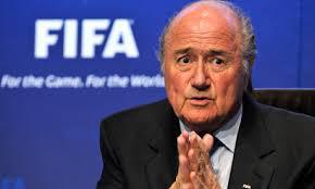 Sepp Blatter, outgoing  FIFA president