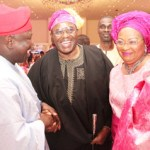 (Photonews) Ambode at wedding of Oyo Governor's daughter