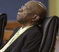 The embattled Jack Warner