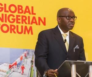 SNEPCo's Tony Attah at the Global Nigerian Forum