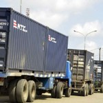 Truck drivers in Lagos withdraw services