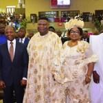VP Osinbajo, Gov. Ambode grace TREM General Overseer, Okonkwo's 70th Birthday in Gbagada