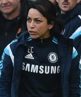 Chelsea team doctor Eva Carneiro