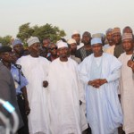 (Photonews) Gov. Tambuwal visits flood ravaged communities in Sokoto State