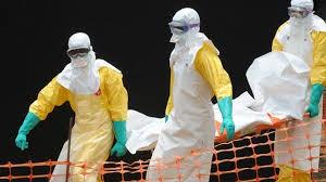 An ebola virus victim