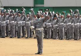 Nigerian Customs Service personnel