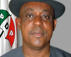 Prince Uche Secondus, Acting National chairman of PDP