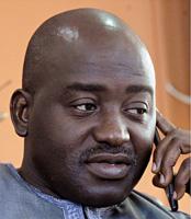 Liberia's FA president Musa Bility